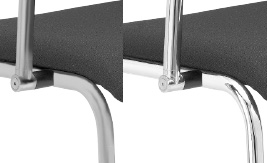 Gestelle Silber oder chrom-Ausführung
