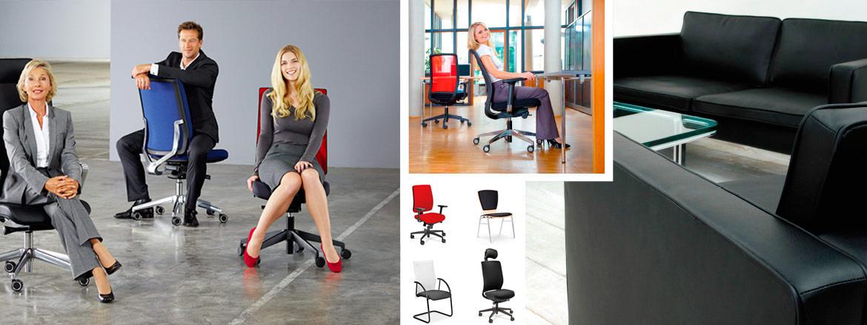 Zu gutem Sitzen gehört mehr als ein Bürostuhl. Lassen Sie sich von uns beraten.